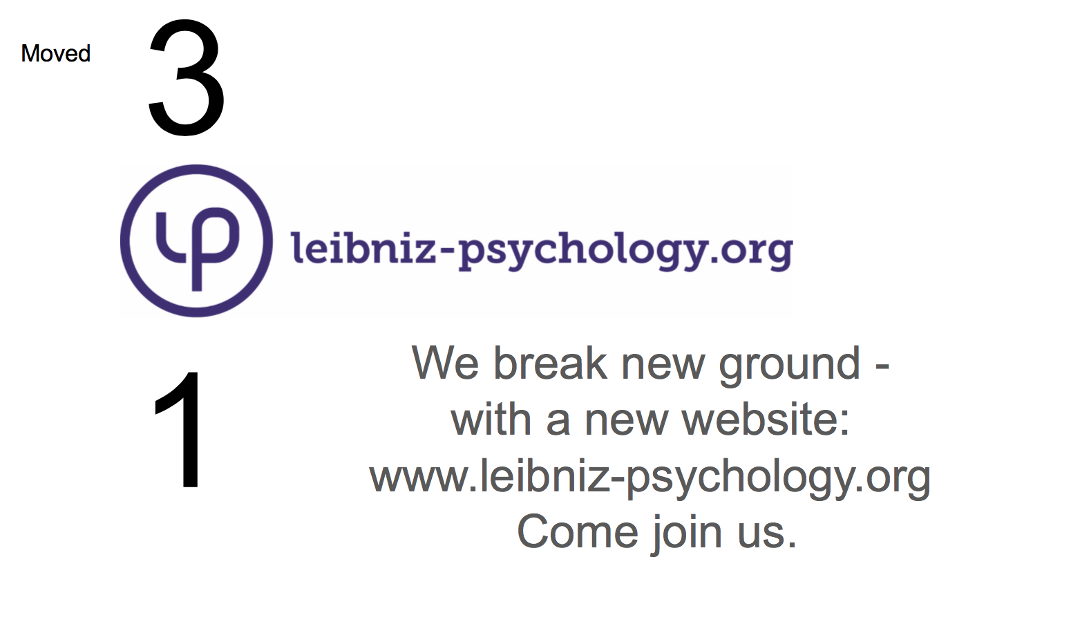 We break new ground - with a new website: www.leibniz-psychology.org