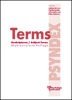 Abbildung Cover PSYNDEX Terms